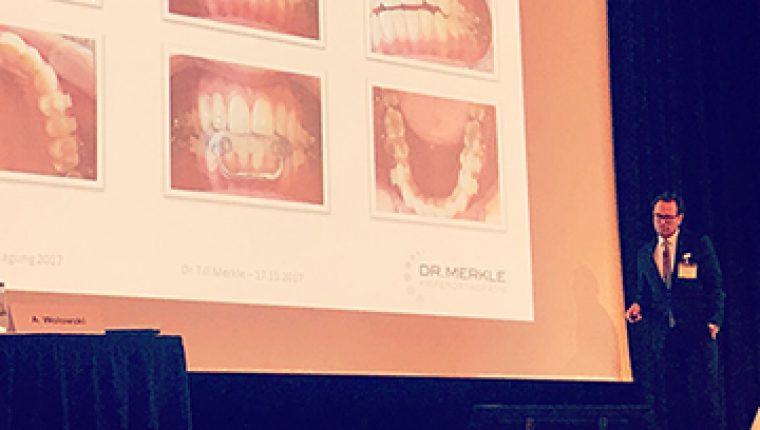 Dr. Merkle Referent bei 50. Jahrestagung DGFDT